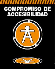logo compromiso accesibilidad 2012